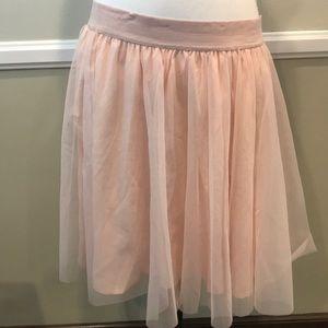Torrid pale pink ballerina mesh skirt 2